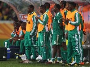 Гравців збірної Нігерії підозрюють в участі в договірних матчах на ЧС-2010