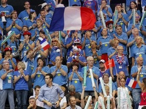Сборная Франции вышла в полуфинал Кубка Дэвиса