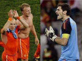 Нидерланды vs Испания. Финал ЧМ-2010 в цифрах