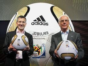 В ЮАР презентовали официальный мяч финала ЧМ-2010