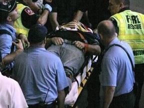 Бейсбольный болельщик выжил после падения с верхнего яруса трибуны