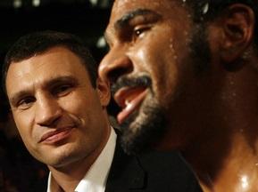 Хэй готов драться с Кличко, но его не устраивает гонорар