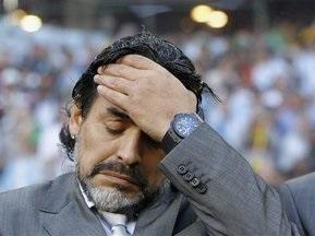 Марадона не подавал в отставку с поста тренера сборной Аргентины