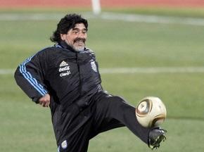 Диего Марадона: У меня нет сомнений в исходе встречи против Германии