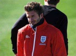 Бекхэм планирует продолжить выступления за сборную Англии