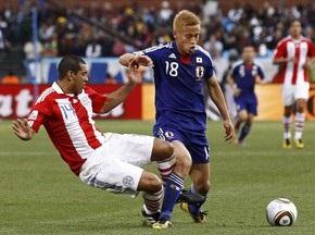 Парагвай випереджає Японію після серії пенальті