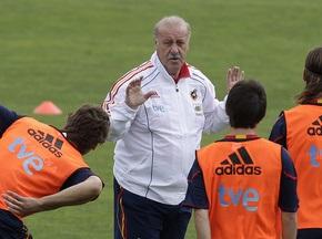 Дель Боске закликає іспанських футболістів не концентрувати увагу тільки на Роналдо