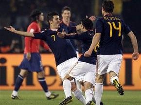 Испания побеждает Чили. Обе сборные выходят в 1/8 финала