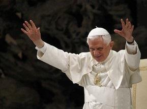 Папа Римський вболіває за збірну Німеччини на ЧС-2010