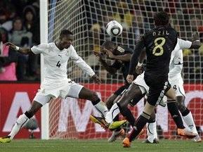 Африка ликует: Гана проигрывает, но выходит вместе с Германией в 1/8 финала