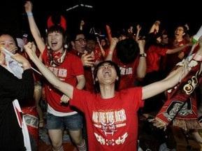 Фанат утонул во время празднования успеха Южной Кореи