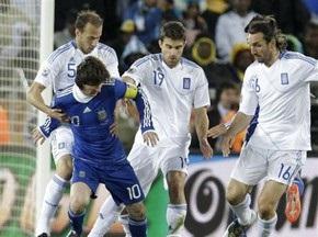Бетон зруйновано. Аргентина дотискає Грецію
