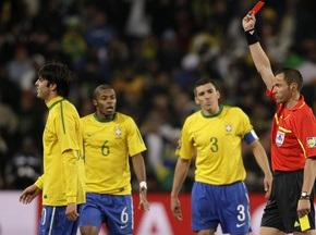 Бабушка Кака раскритиковала арбитра матча Бразилия - Кот д'Ивуар