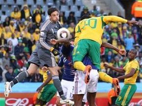 ЮАР побеждает Францию