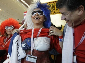 Фотогалерея: Дань традициям. Чили минимально побеждает Швейцарию