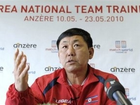 Тренер збірної Північної Кореї налаштовується на вихід у плей-оф