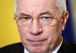 Азаров: Слияния Нафтогаза Украины и Газпрома не будет