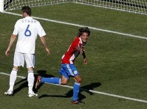 Парагвай легко побеждает Словакию