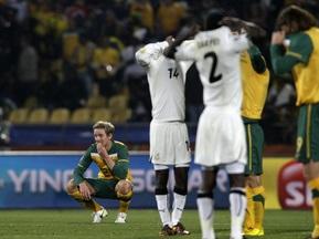 Фотогалерея: И за того парня. Австралия удивила Гану характером