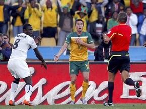 Удаление австралийского игрока стало 150-м в истории Чемпионатов мира