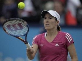 Жюстин Энен выиграла турнир UNICEF Open