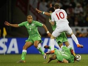 Алжир выстоял перед Англией