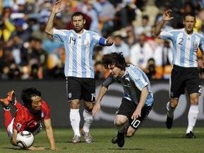 Хет-трик Ігуаїна приносить Аргентині перемогу над Південною Кореєю