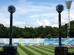 Стадіон Динамо перевірила комісія УЄФА