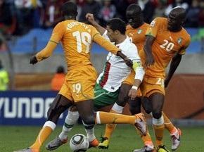 Унылые нули: Португалия и Кот д'Ивуар играют вничью