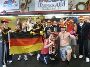 Боксерский клуб Universum поддержал сборную Германии
