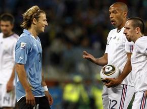 Фотогалерея: Никто не хотел рисковать. Франция и Уругвай разошлись миром