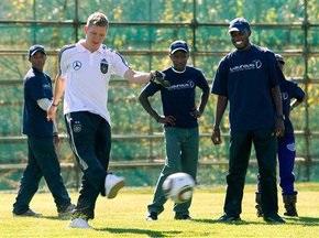 Африканські школярі безкоштовно відвідають матчі збірної Німеччини