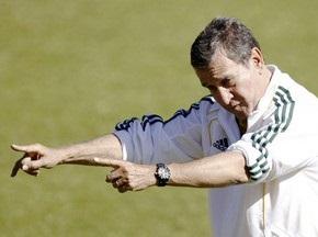 Паррейра назвал состав сборной ЮАР на матче-открытии ЧМ-2010