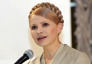 Тимошенко: Возвращение газа Фирташу направлено на увеличение состояния окружения Януковича