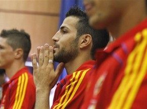 Фабрегас установил рекорд в сборной Испании