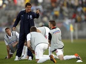Английские футболисты разозлили Фабио Капелло