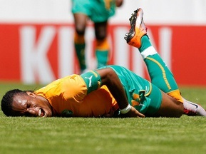 Дрогба получил повреждение в товарищеском матче