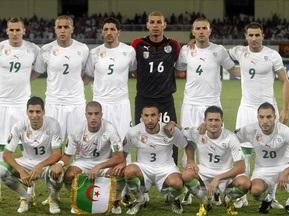 Алжир визначився із заявкою на ЧС-2010