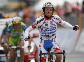 Скарпони побеждает на 19-м этапе Giro d'Italia