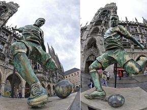 Франку Рибери поставили памятник