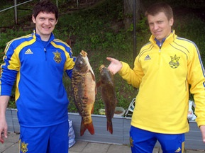 Збірна України з футболу відправилася  на риболовлю