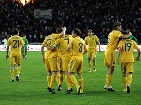 Украина поднялась в рейтинге FIFA