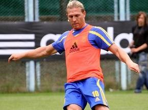 Воронин приехал в Харьков поддержать сборную Украины