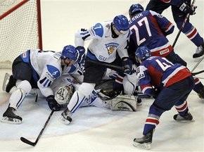ЧМ по хоккею: Финны разнесли словаков, норвежцы одолели швейцарцев