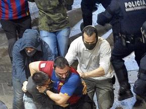 Болельщики Барселоны отпраздновали чемпионство погромами