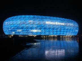 На стадионе Баварии покажут финал Лиги Чемпионов