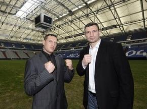 На бой Кличко - Сосновский уже продано 30 тысяч билетов
