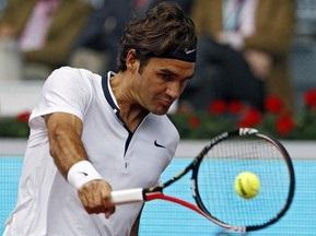 Федерер остался доволен своим первым матчем в Мадриде