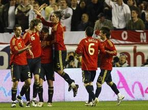 Іспанія визначилася зі складом на ЧС-2010