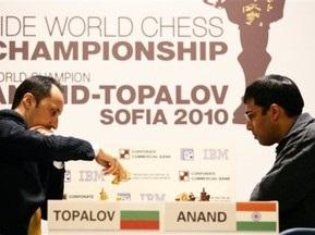 Ананд и Топалов снова разошлись миром